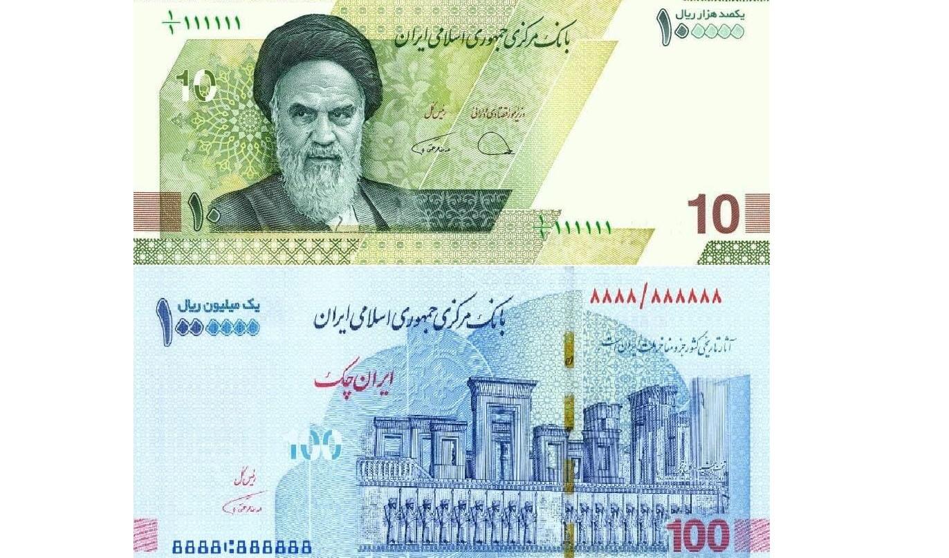توزیع ایران چکهای ۱۰۰ هزار تومانی و اسکناس ۱۰ هزار تومانی جدید از امروز