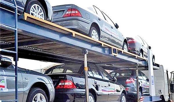 سال گذشته ایران چه خودروهایی را به کدام کشورها صادر کرد؟