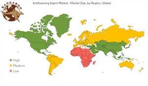 بازار جهانی ضدکف (آنتی فوم)