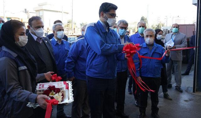 افتتاح خط تولید جدید ۴ قطعه خودرو