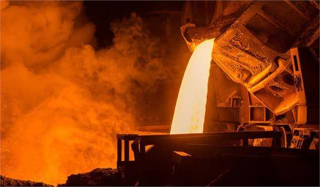 تولید ۲۵.۳ میلیون تن شمش فولادی تا پایان دیماه