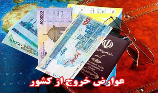 عوارض خروج از کشور بر اساس قانون بودجه ۱۴۰۰ ابلاغ شد+جدول
