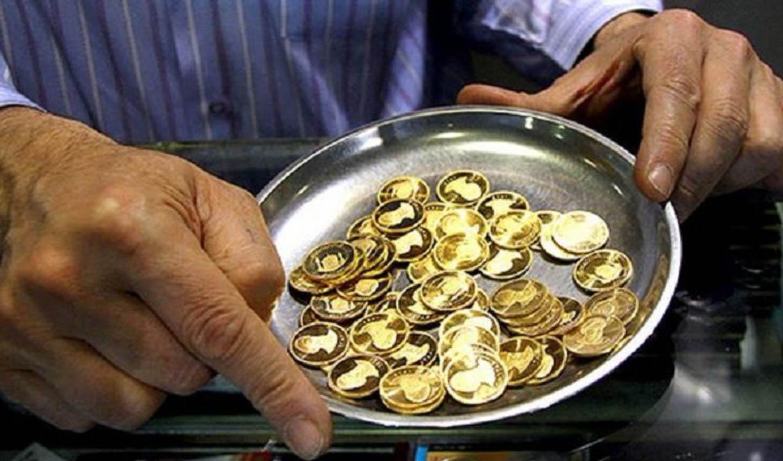 کاهش ۲۱۰ هزار تومانی قیمت سکه در روز نخست هفته