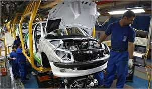 امکان تولید سالانه یک میلیون و ۲۰۰ هزار خودرو وجود دارد