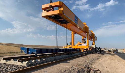 ساخت نخستین دستگاه ریلگذار در ایران