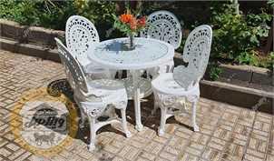 صندلی باغی پلیمری ، مبلمان حیاطی و صندلی حصیری بافت ویلایی