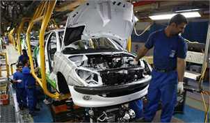 رشد ۱۱۴ درصدی تولید خودرو