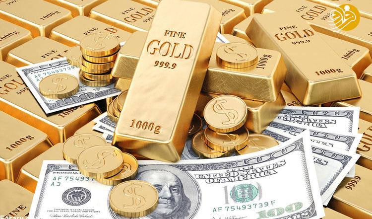 افت دلار از بالاترین سطح ۳ ماهه / رشد قیمت جهانی طلا