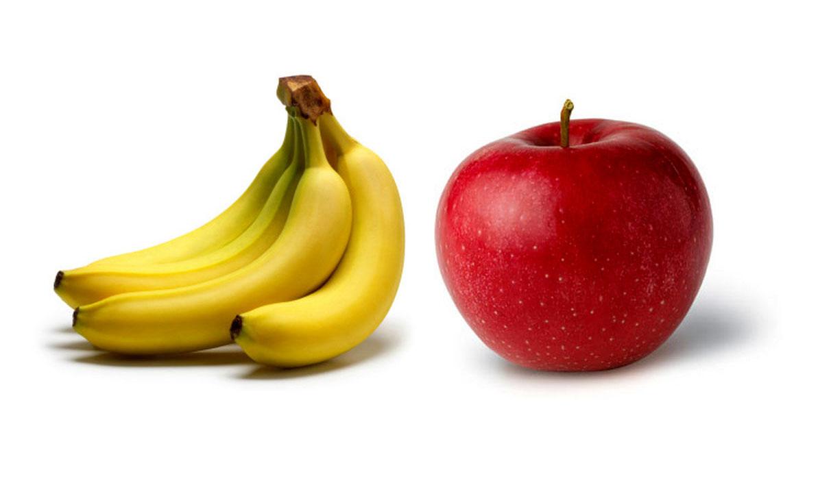 آمار واردات موز و سیب اعلام شد