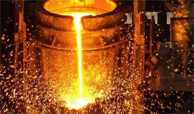 افزایش تولید ۷ درصدی محصولات فولادی و ۶ درصدی شمش در کشور