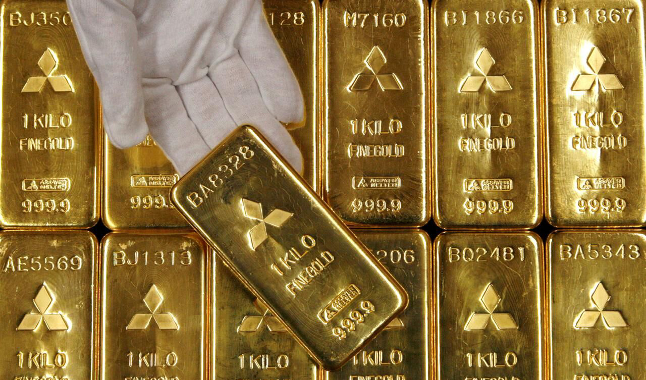 طلا در نخستین روز کاری بازارهای جهانی ارزان شد