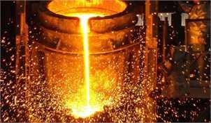 افزایش ۹.۹ درصدی تولید فولاد خام ایران