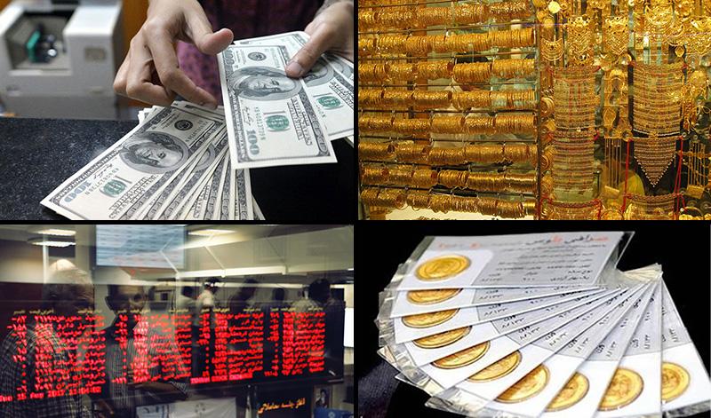بازگشت ثبات به بازار ارز و طلا/ پیشتازی بورس در کسب بازدهی