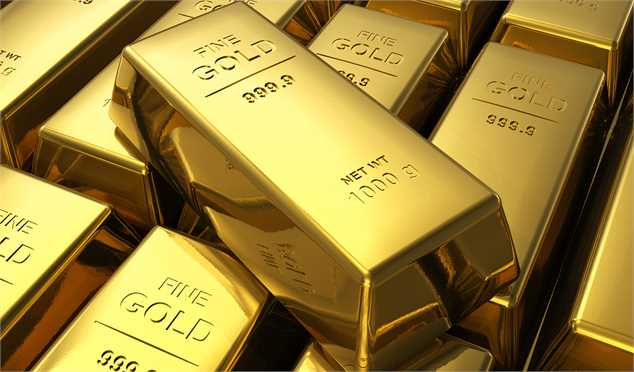 سقوط قیمت طلا به قعر یک ماهه