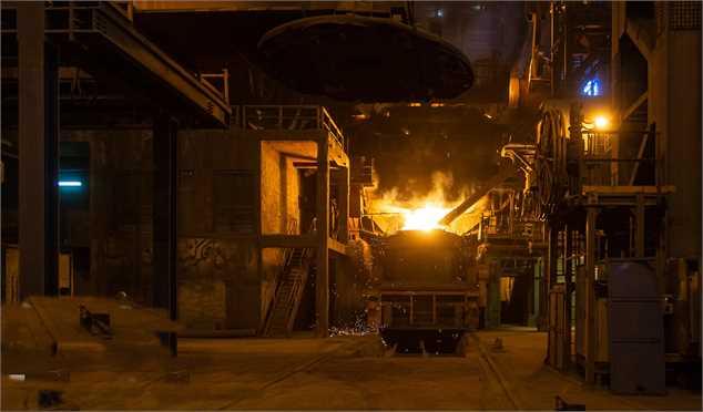 افزایش چشمگیر صادرات فولاد با وجود کاهش تولید