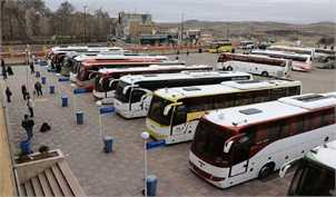 جدول قیمت بلیت اتوبوس برای بازگشت زائران اربعین