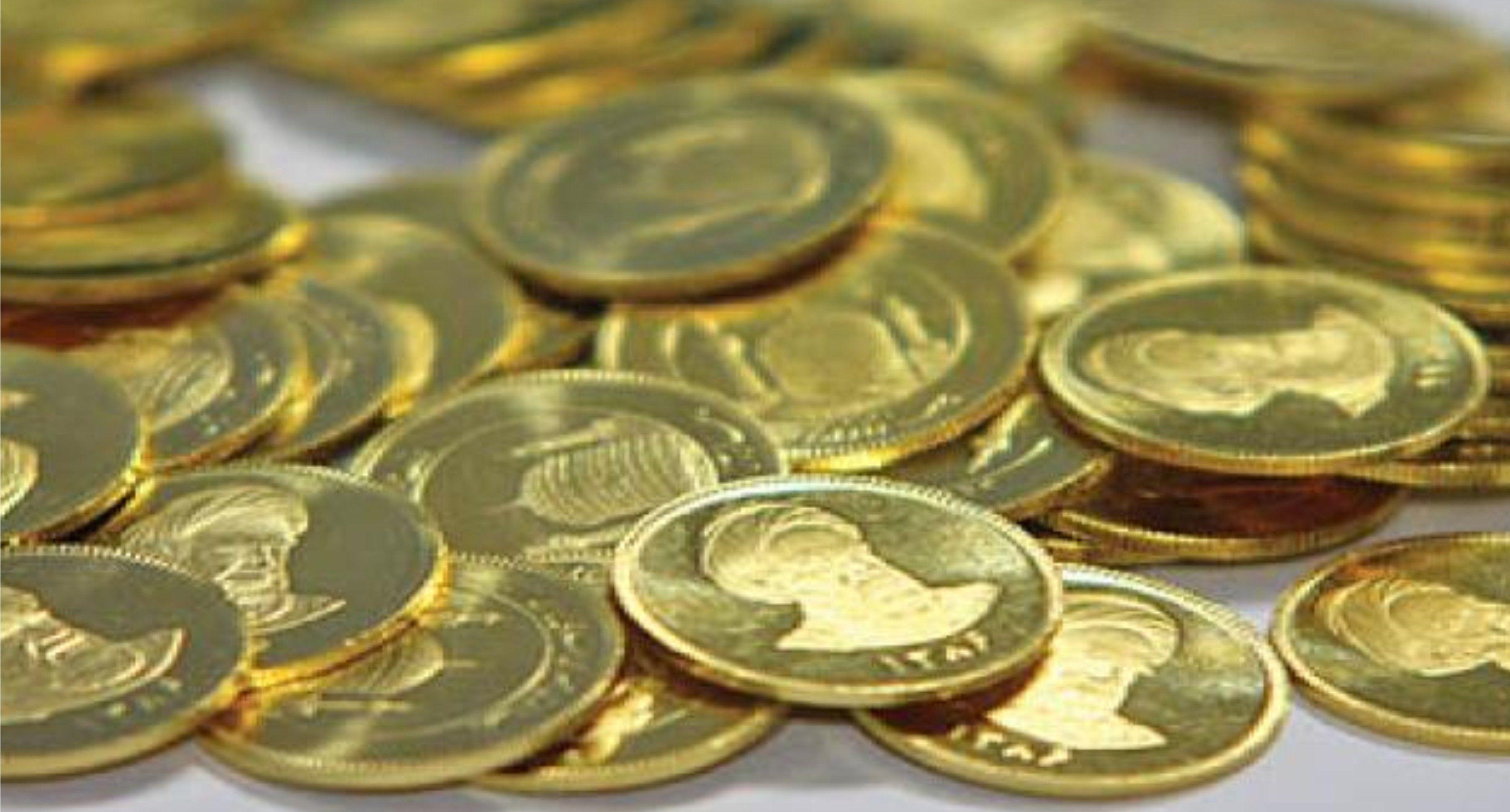 ادامه ریزش قیمت سکه در پی کاهش نرخ دلار و انس جهانی طلا